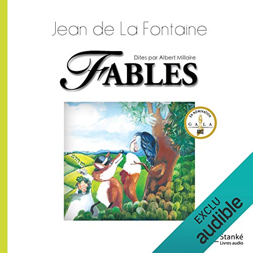 Fables audiobook cover art