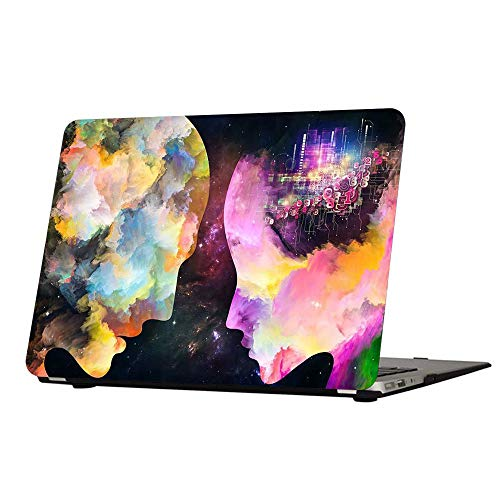 Funut Compatible con MacBook Pro de 15 pulgadas 2016-2019, carcasa rígida de policarbonato mate de goma para MacBook Pro 15 A1707 A1990 con Touch Bar ID sin CD-ROM, cerca de mi amante