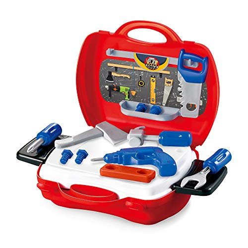 Multi-Functional Kids Toy Tools Set Fabal Fun Tool Box Kit for Kids Educational Toy and Best Gift Easy to Carry (Muliticolor)