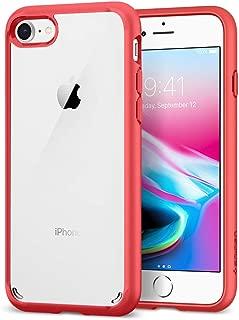 Spigen Ultra Hybrid [2nd Generation] Designed for Apple iPhone 7 Case (2016) / Designed for iPhone 8 Case (2017) - Red