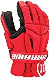 Warrior Burn Goalie Glove, Red, Large