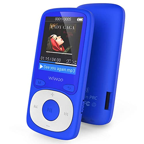 Aniee MP3 Player with FM Radio/Video Player 16GB Lossless Music ...