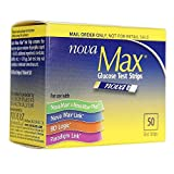 NovaMax Glucose Test Strips, Box of 50 Strips
