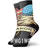 Be-ryl Hombres y Mujeres Athletic Fire Girl Mood Happy Fantasy Socks Abstract Wicking Casual Socks