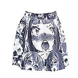 JasmyGirls Sexy Ahegao Falda Hentais Anime Cosplay Lencería Traje Kawaii Japonés Colegiala Mini Falda Halloween Lolita