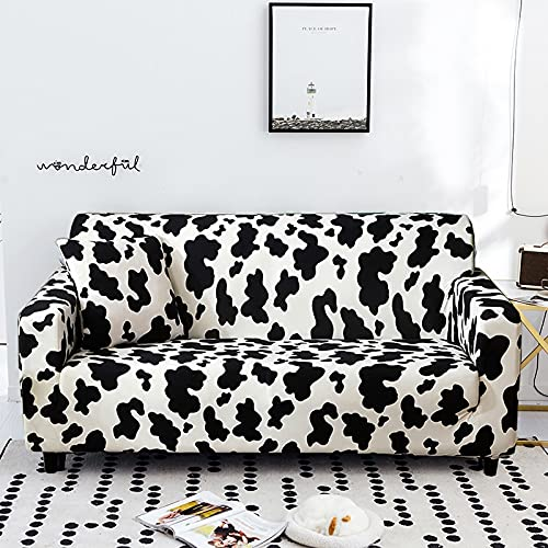 PPOS Funda de sofá elástica Fundas elásticas con Todo Incluido Funda de sofá para Diferentes Formas Sofá Loveseat Silla L-Style Funda de sofá A1 Loveseat 145-185cm-1pc