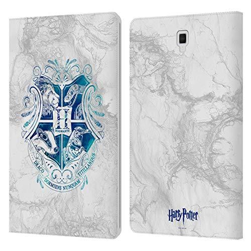 Head Case Designs Licenza Ufficiale Harry Potter Hogwarts Aguamenti Deathly Hallows IX Cover in Pelle a Portafoglio Compatibile con Galaxy Tab S4 10.5 (2018)