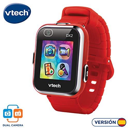 VTech Kidizoom Smart Watch DX2 - Intelligente Uhr für Kinder mit Doppelkamera rot
