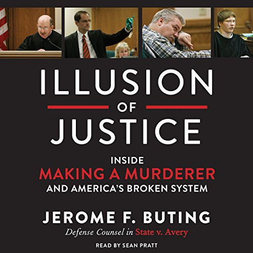 Illusion of Justice audiobook cover art