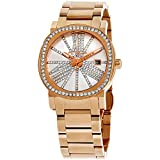 Wittnauer Rose Gold Tone Crystal Bezel and Dial Watch WN4008