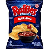 Lay's Ruffles Bar-B-Q Potato Chips 200g/7.1 oz. {Imported from Canada}