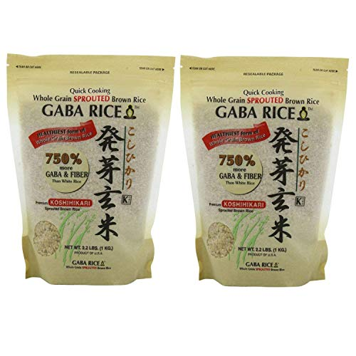 of gaba brown rice GABA - Sprouted Brown Rice 2.0kg (4.4 LB) bag