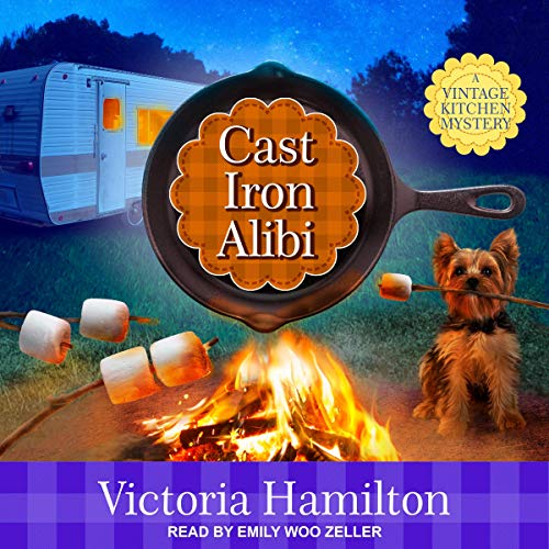 Cast Iron Alibi: Vintage Kitchen Mystery Series, Book 9