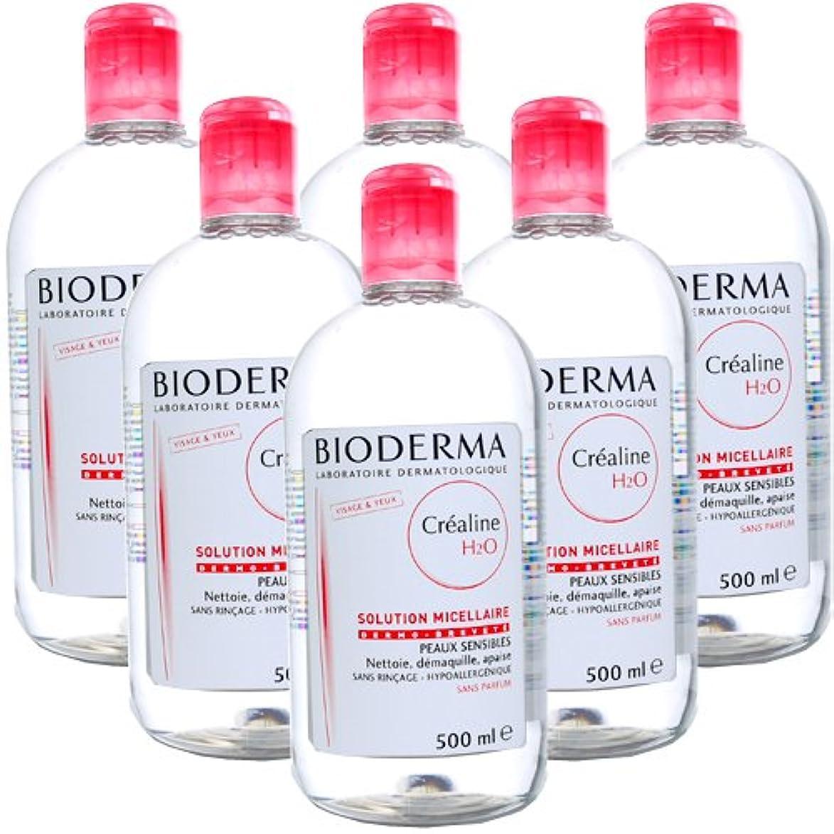 ビオデルマ BIODERMA サンシビオ H2O (エイチ ツーオー) D 500mL 【6本セット】 [並行輸入品]