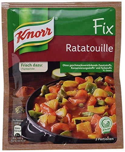 Knorr Fix Ratatouille Paprikagemüse französische Art 40 g
