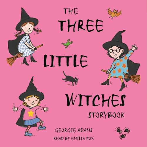 The Three Little Witches Storybook cover art