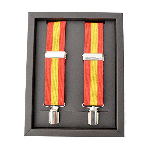 Cencibel Smart Casual Tirantes Caballero Bandera de España