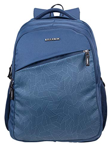 Killer Rugby 41 Liters Navy Water Resistance Polyester Laptop Backpack