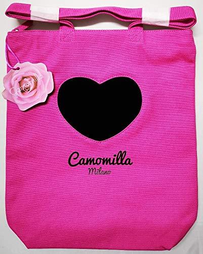 Camomilla Borsa A Spalla - Shopper Milano - Fuxia