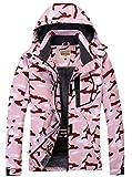 WULFUL Women's Waterproof Snow Ski Jacket Mountain Windproof Winter...