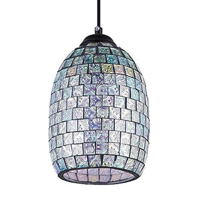 SHENGYADI Modern Mosaic Pendant Light