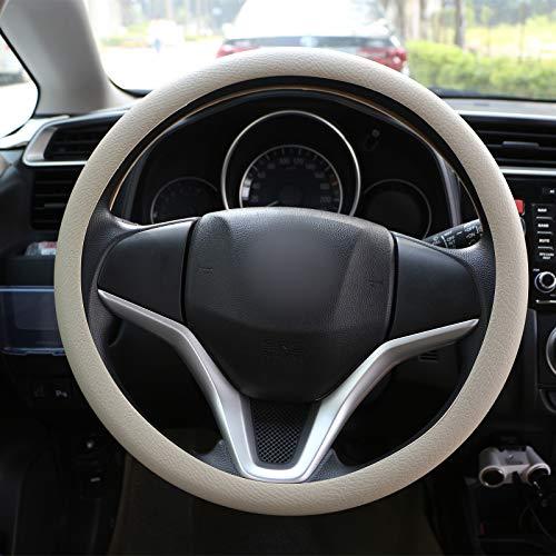 Universell Auto Lenkradhülle / Lenkradbezug, Rutschfest, komfortable für alle fahrzeugtypen so als Pkw, Lkw und SUVs , Bestens geeignet für Runde Lenkräder 35-40cm.