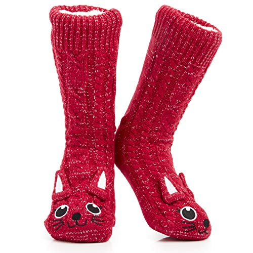 Fluffy Slipper Socks Women Girls Premium Soft Home Socks One Size 4/8 -...