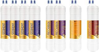 8EA Premium Filtre à eau de rechange 1 an pour Goldrock Aqua : AW-3000/KH-1000P/GDR-500-1 micron