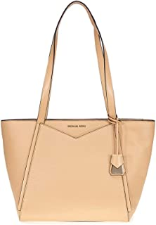 Michael Kors Whitney Small Leather Tote- Butternut