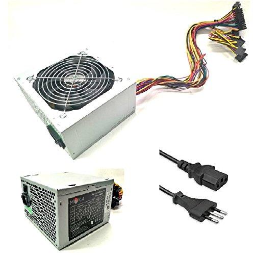Myka Alimentatore per Case ATX PW-B500 500W Ventola 12cm 3X Sata 1x IDE Tasto On/off Bulk