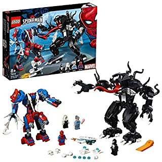LEGO Marvel Super Heroes - Le robot de Spider-Man contre Venom - 76115 - Jeu de construction (B07FNSF243) | Amazon price tracker / tracking, Amazon price history charts, Amazon price watches, Amazon price drop alerts