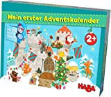 HABA 304903 Mein erster Adventskalender Ritterburg, für Kinder ab 2 Jahren