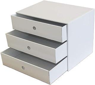 HongLianRiven Organisateur de Bureau Classeurs A4 en Plastique Armoire de données Casier Tiroir Armoire de Bureau Armoire ...
