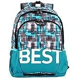 Best Life TASKU Mochila Tipo Casual 41 Centimeters Azul (Blau)