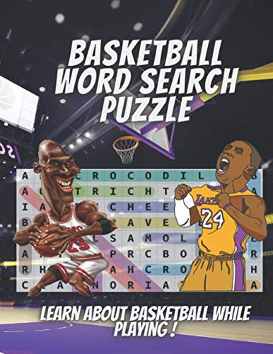 Basekball Word Search Puzzle: 1000+ Words in Search Puzzles Large Print With Solutions. Improve Your Vocabulary and Reading Skills While Playing !