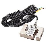 LYWS Wägezellen-Gewichtungssensor mit Kabel, wasserdicht, S-Typ 100KG
