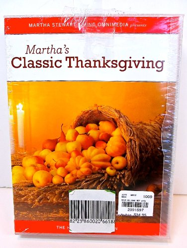 Best Price Martha Stewart DVD Holiday Collection,homemade Holidays,classic Thanksgiving,New Year's C...