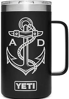Custom Yeti Tumbler 24 Oz Mug - All Colors and 50+ Designs - Personalized YETI Mug - Custom Yeti Rambler Tumbler Custom Yeti Rambler Monogrammed Yeti - Laser Engraved Beer Tumbler Yeti Beer Mug
