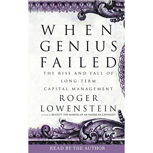 When Genius Failed audiobook cover art