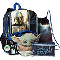 Star Wars Baby Yoda 5 Piece Backpack Set
