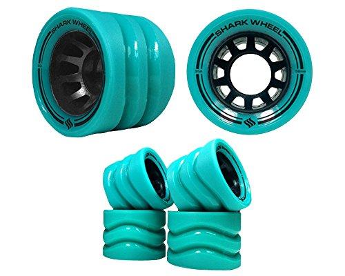 SHARKWHEEL Quad Skate Formula 86A Outdoor, Größe:, Producer_Color:86A Green