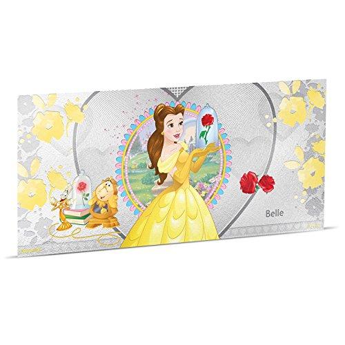 New Zealand Mint | Disney's Prinzessinnen |Die Schöne und Das Biest | Belle |Silbermünze |Niue | 1 Dollar |Stempelglanz |5 Gramm