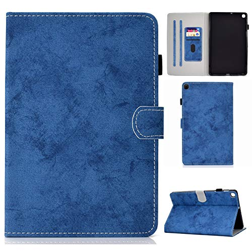 Jajacase Galaxy S6 Lite 10.4 2020 Case,SM-P610/P615 Tablet Case,PU Leather Multi-Angle Viewing Folio Stand Cover Case for Samsung Galaxy TAB S6 Lite 10.4 2020 SM-P610/P615-Blue