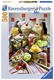 Ravensburger Just Desserts 500 Piece Jigsaw Puzzle for Adults – Every Piece is Unique, Softclick Technology Means Pieces Fit Together Perfectly