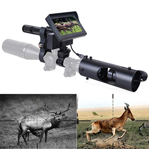 Buy Cheap KOLINLOV Night Vision Scope for Riflescope Long Viewing Range Night Hunting Clear Vision w...