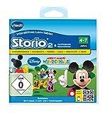 VTech 80-230404 Jeu éducatif pour Storio 2, Storio 3S Thème: la Maison de Mickey [Français Non Garanti]
