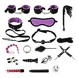 LT6-DSH 18pcs Rich Sports Set Kit de Entrenamiento único Super Descuento Toy Set (púrpura) .A67