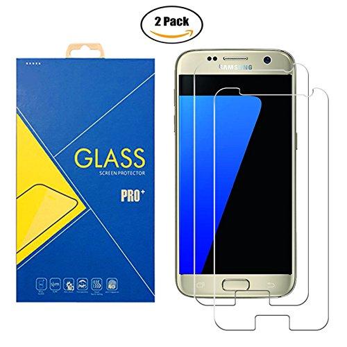 [2 Pack] Pellicola Vetro Temperato Compatibile Samsung Galaxy S7 / 930 / G930V / G930F - Schermo Antiurto Antigraffio