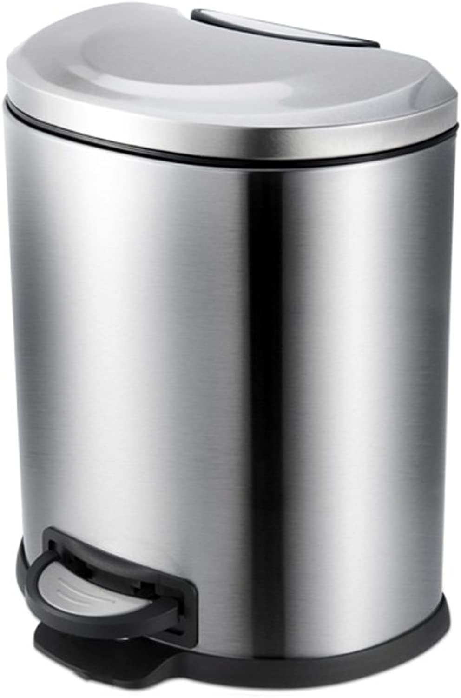 40% de descuento ZfgG Cubo de Basura Basura Basura del hogar, Pedal Creativo Acero Inoxidable Mudo Desodorante Cocina Basura Caja de Reciclaje  ahorrar en el despacho
