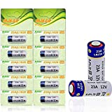 10 Count A23 23A 12V Alkaline Battery
